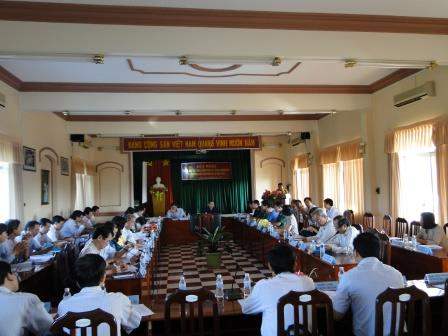 Hội nghị Sơ kết công tác phòng chống lụt bão