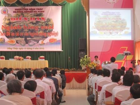 Diễn đàn ngành hàng xoài trong Đề án tái cơ cấu ngành nông nghiệp